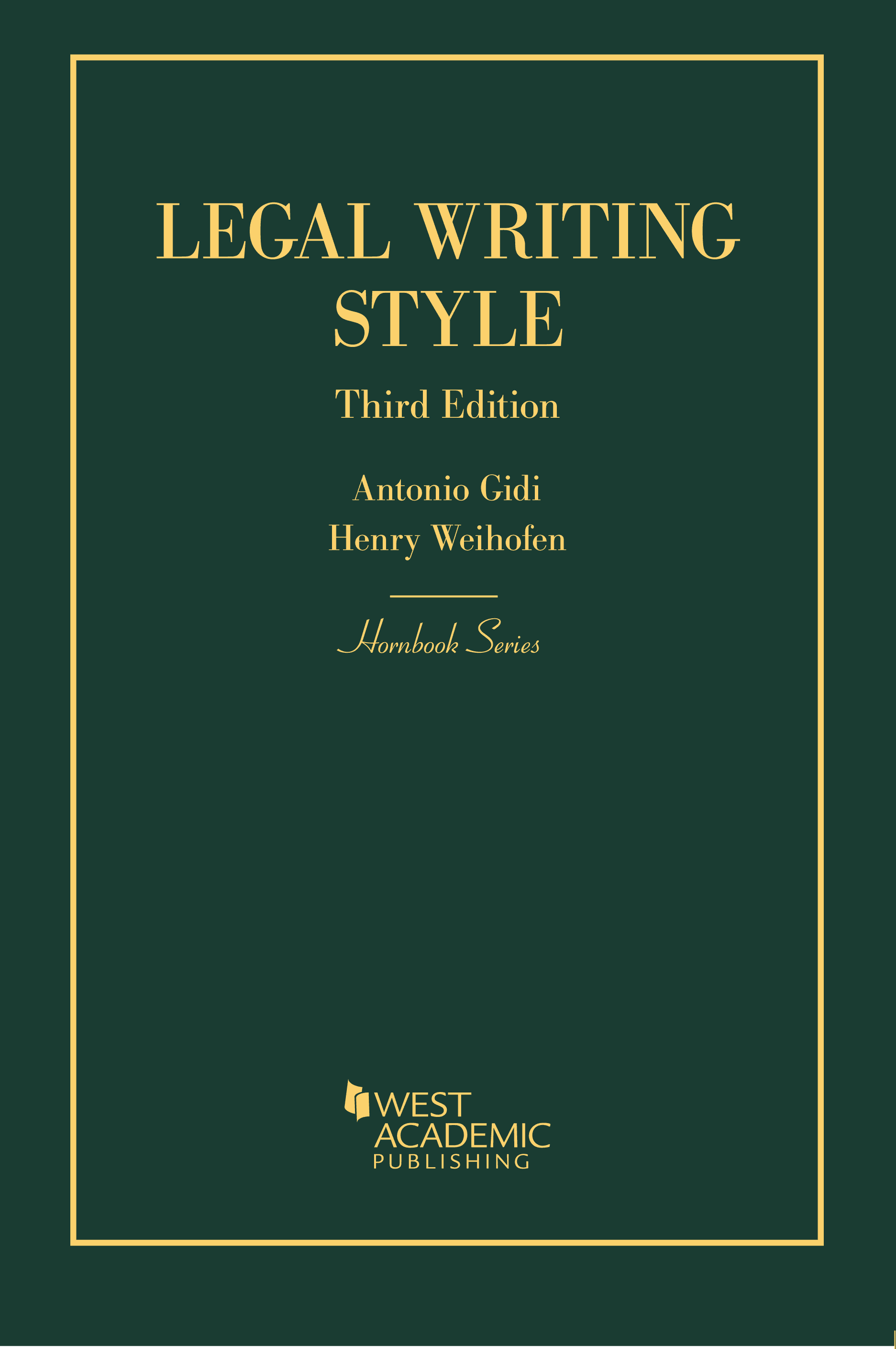 Antonio Gidi Legal Writing Style Antonio Gidi